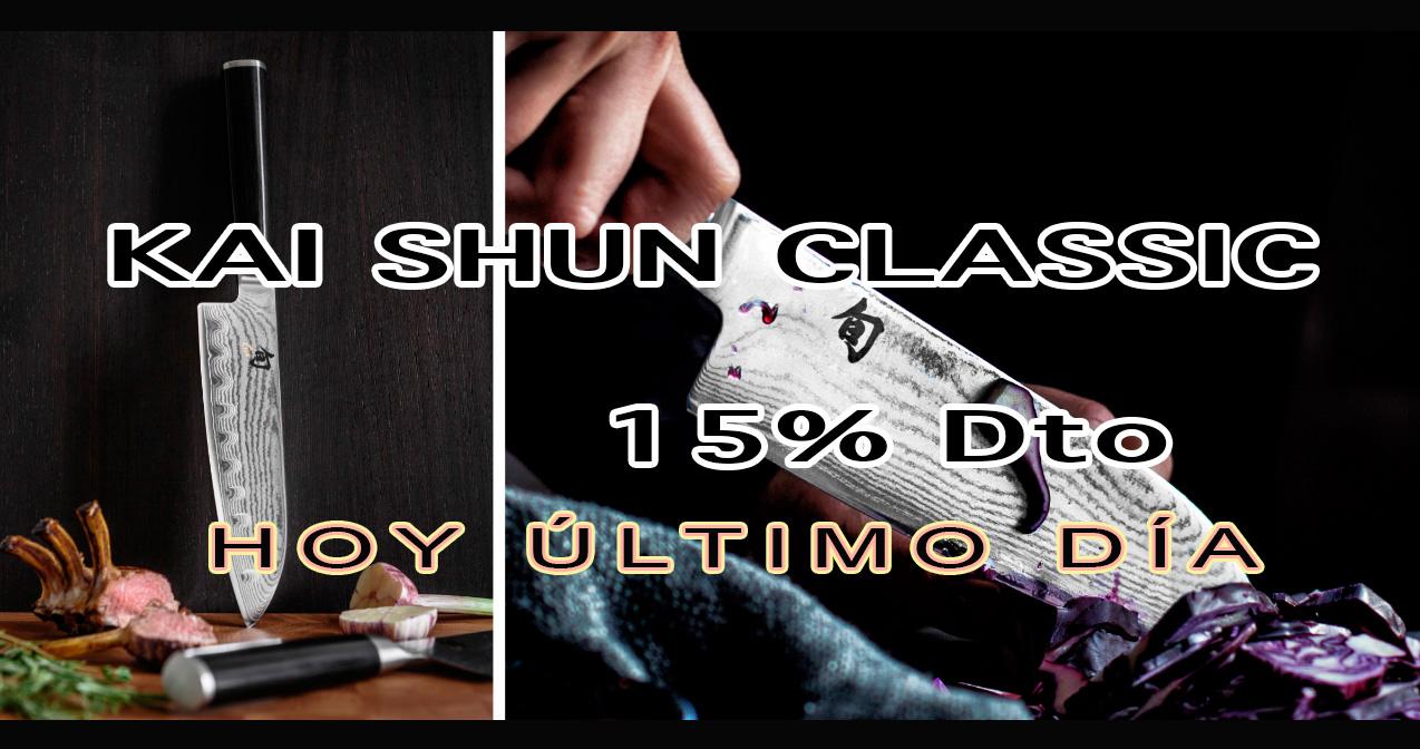 Kai Shun Classic Oferta 15% descuento