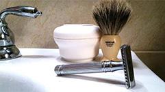 Para el afeitado